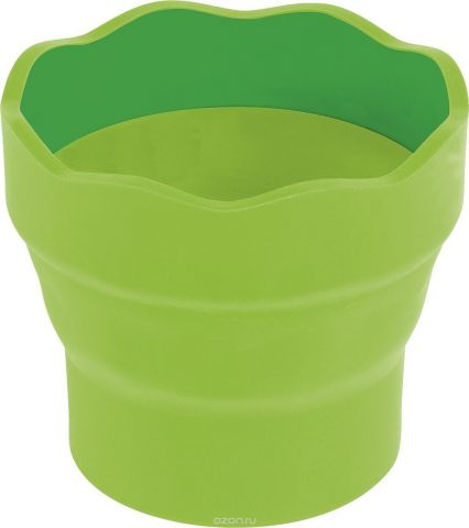 Faber-Castell Стакан для воды Clic & Go складной цвет зеленый