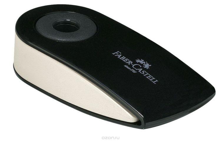 Faber-Castell Ластик Sleeve цвет черный