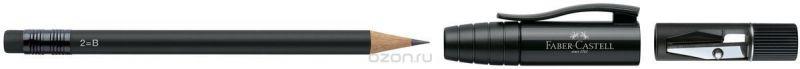 Faber-Castell Карандаш чернографитовый Perfect Pencil II цвет корпуса черный