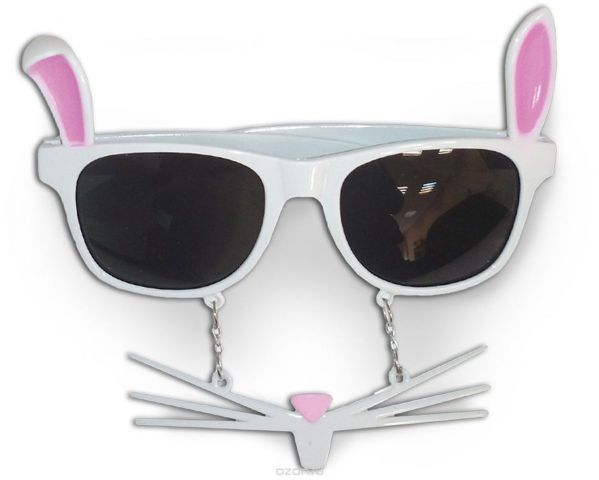 Partymania Очки для вечеринок Кролик