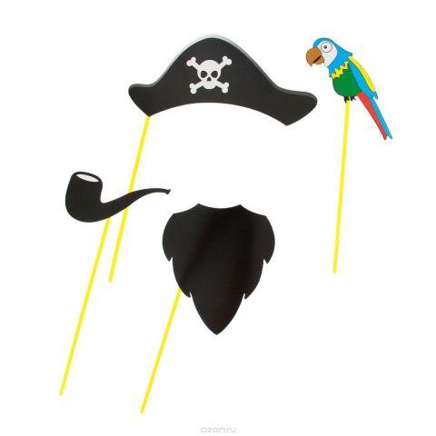 """Набор для фотосессии Страна Карнавалия """"Пират"""", 4 предмета. 1019773"""