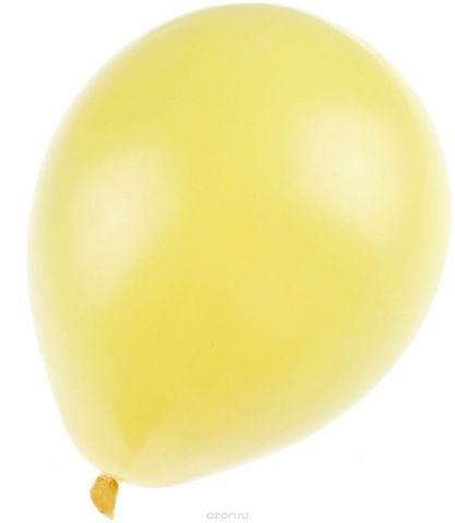 Страна Карнавалия Шар латекс 100 шт 7 Пастель Желтый