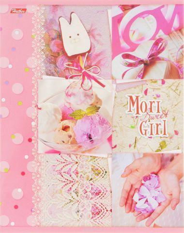 Hatber Тетрадь Sweet Mori Girl 48 листов в клетку 14436