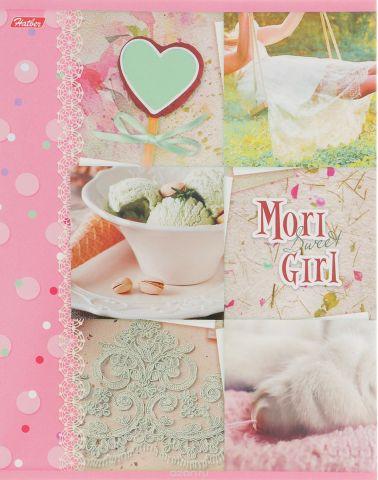 Hatber Тетрадь Sweet Mori Girl 48 листов в клетку 14551