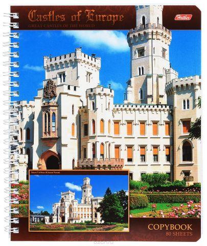 Hatber Тетрадь Замок Глубока 80 листов в клетку