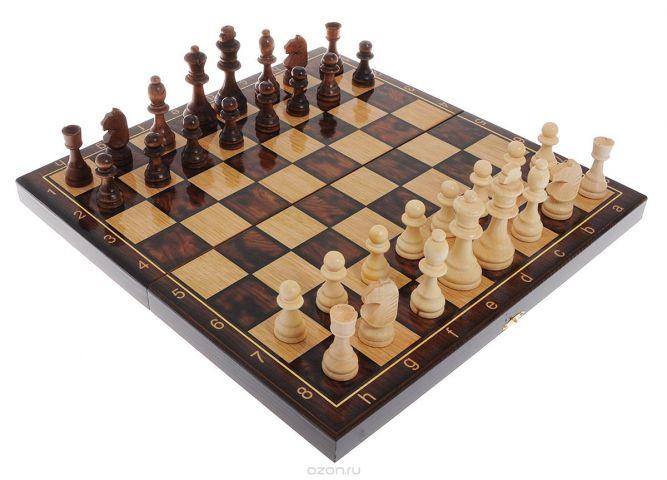 """Игровой набор 3в1 Perfecto """"Классический"""": нарды, шахматы, шашки"""
