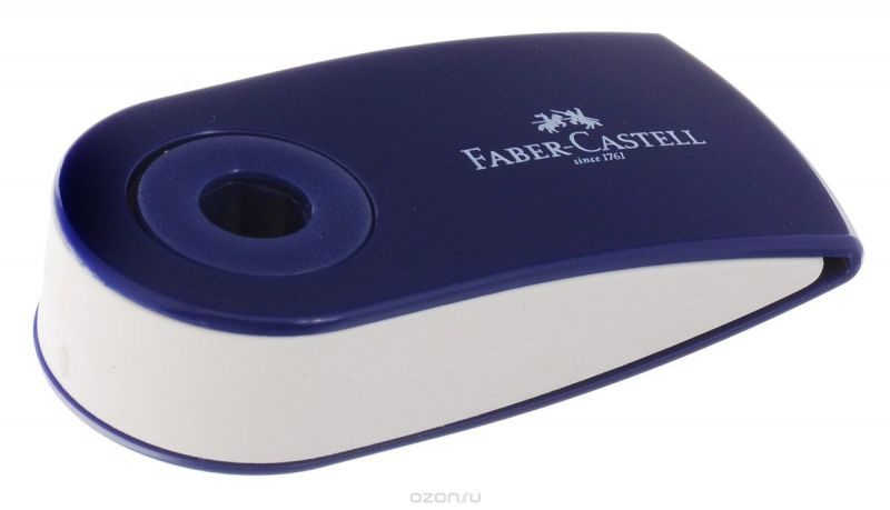 Faber-Castell Ластик-мини Sleeve цвет темно-синий