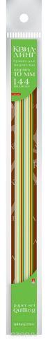 Альт Бумага для квиллинга 10 мм 144 полосы 12 цветов