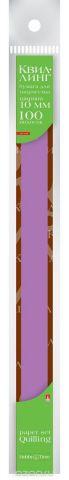 Альт Бумага для квиллинга 10 мм 100 полос цвет фуксия