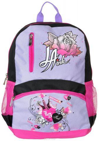 Action! Рюкзак детский La Ink цвет черный розовый сиреневый