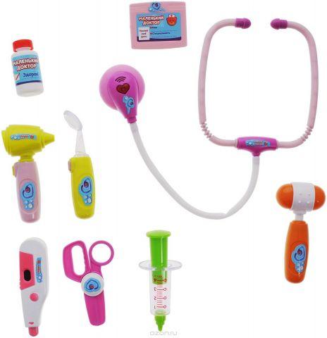 ABtoys Набор медицинских инструментов Маленький доктор 10 предметов