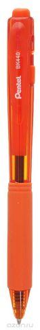 Шар.ручка авт. оранжевый стержень 1.0 мм трехгран.корпус в блистере