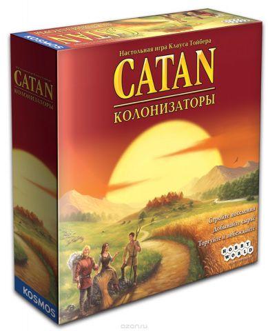 Hobby World Настольная игра Колонизаторы (4-е русское издание)
