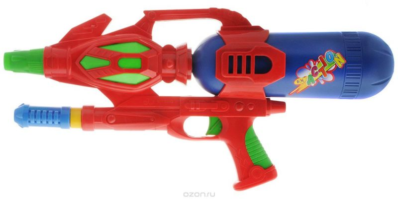 Bebelot Водный автомат Юный пират цвет красный синий