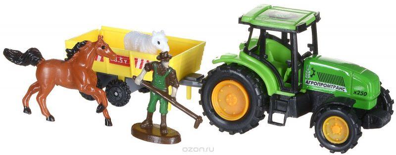ТехноПарк Игровой набор Трактор