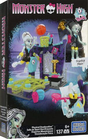 Mega Bloks Monster High Конструктор Класс физкультуры
