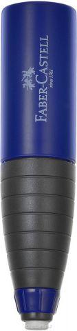 Faber-Castell Точилка со встроенным ластиком цвет темно-синий