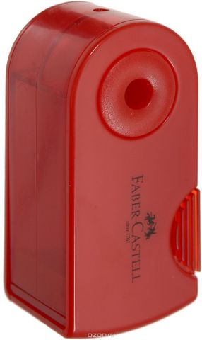 Faber-Castell Мини-точилка Sleeve цвет красный
