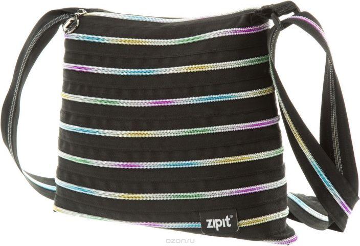 Zipit Сумка Medium Shoulder Bag цвет черный