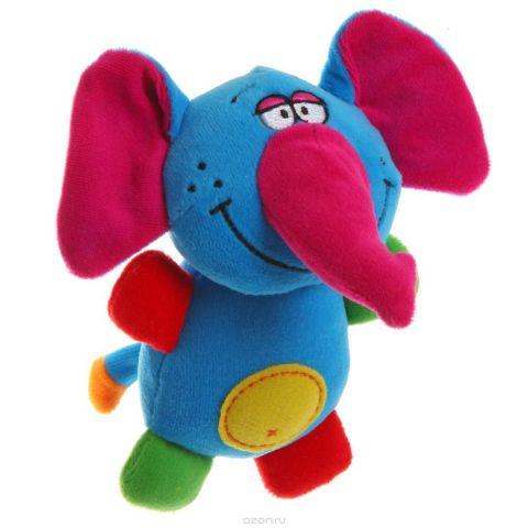 Bondibon Мягкая игрушка-погремушка Слон