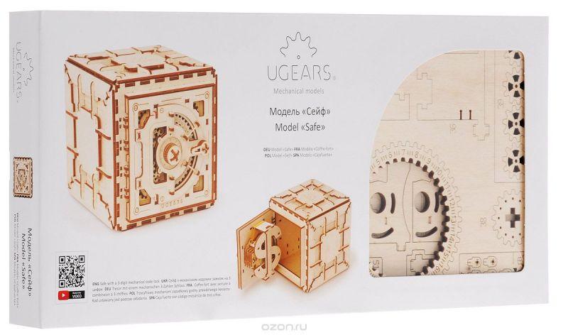 Ugears Деревянная модель Сейф