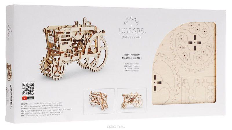 Ugears Деревянная модель Трактор