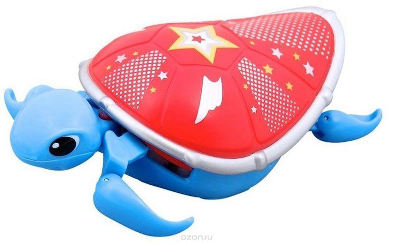 Moose Интерактивная игрушка Черепашка цвет синий красный