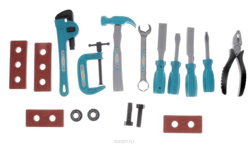 ABtoys Игрушечный набор инструментов 17 предметов