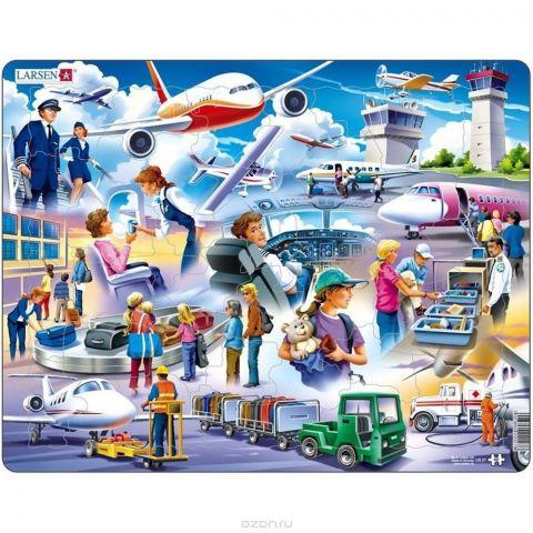 Larsen Пазл для малышей Аэропорт