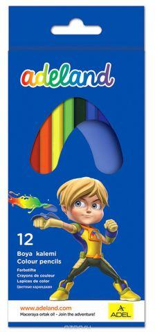 Adel Набор цветных карандашей Adeland 12 шт 211-2315-100