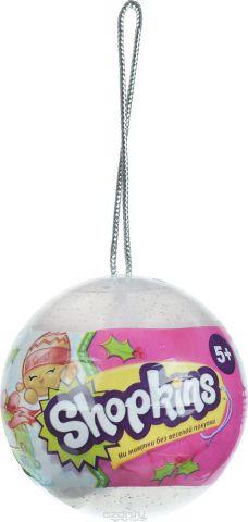Shopkins Набор фигурок в елочном шаре 2 шт цвет прозрачный