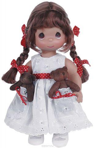 Precious Moments Кукла Друзья в кармашке брюнетка
