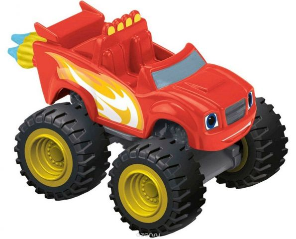Blaze Машинка Вспыш на молниеносной скорости