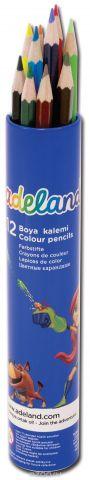 Adel Набор цветных карандашей Adeland 12 шт
