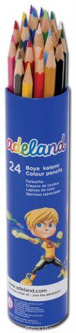 Adel Набор цветных карандашей Adeland 24 шт