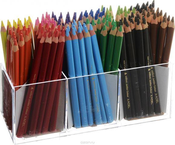 Adel Набор цветных карандашей Adeland Jumbo 144 шт