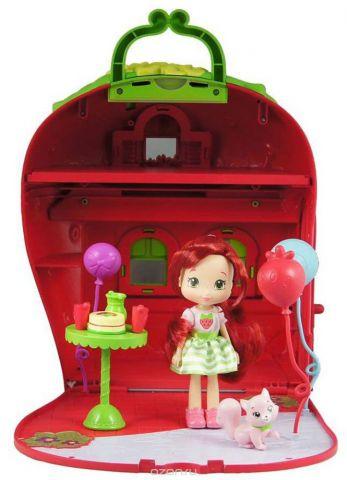 Шарлотта Земляничка Игровой набор с мини-куклой Земляничный дом