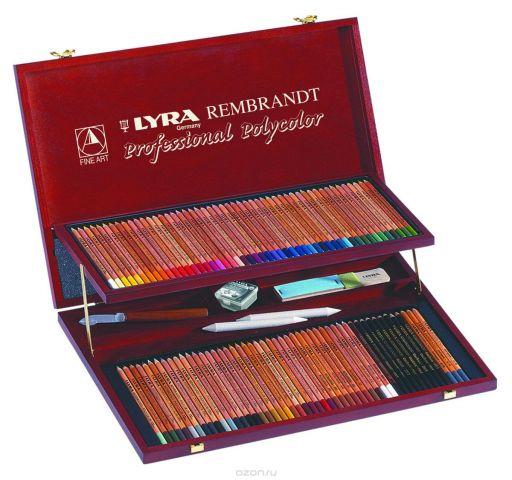 Lyra Художественный набор Rembrandt Polycolor 105 пердметов