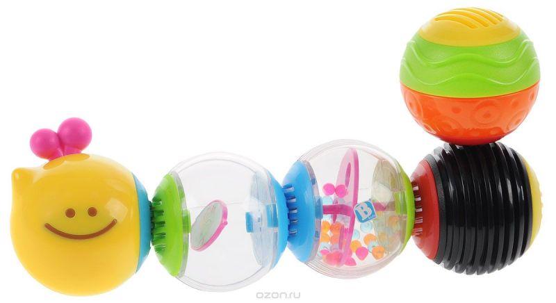B kids Развивающая игрушка Веселая гусеничка 004835