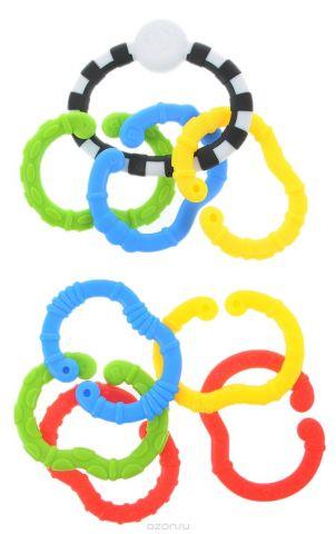 B kids Игрушка-подвеска Веселые колечки Малый набор