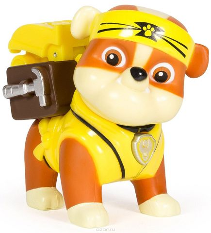 Paw Patrol Фигурка Pup-Fu Rubble