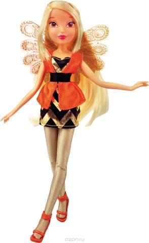 Winx Club Игровой набор с куклой Волшебный трон Stella