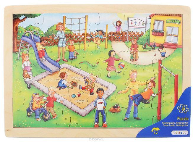 Beleduc Пазл для малышей Детский сад
