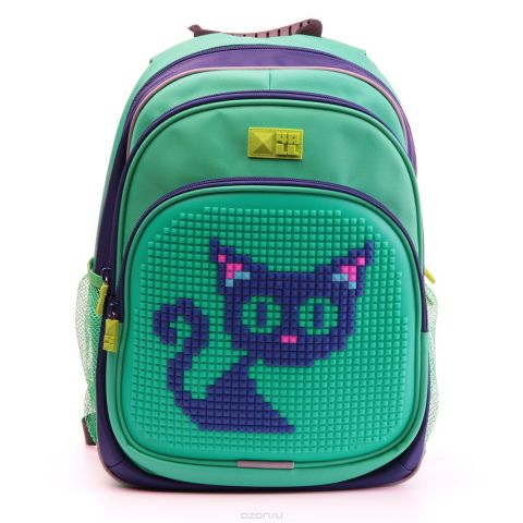 4ALL Рюкзак Kids цвет темно-синий зеленый