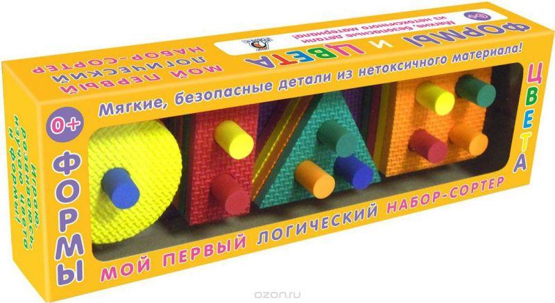 Робинс Обучающая игра Формы и цвета