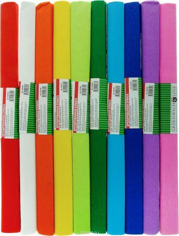 Greenwich Line Набор крепированной бумаги Ассорти 50 х 250 см 10 рулонов