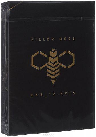 """Карты игральные Ellusionist """"Killer Bees"""", 54 карты"""