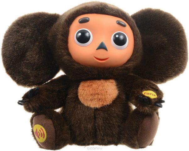 Мульти-Пульти Мягкая озвученная игрушка Чебурашка 25 см