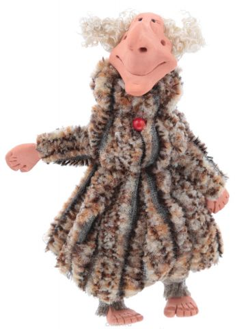 "Подвесная кукла YusliQ ""Баба Яга"". Авторская работа. Kyrk05"