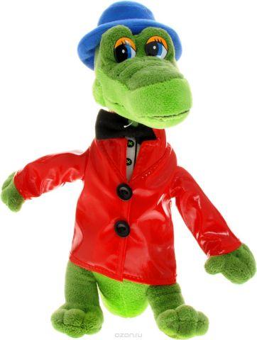 Мульти-Пульти Мягкая озвученная игрушка Крокодил Гена 24 см